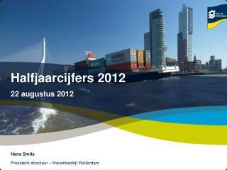 Halfjaarcijfers 2012