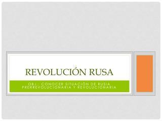 Revoluci�n Rusa