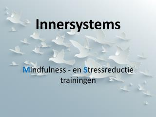 Innersystems M indfulness - en  S tressreductie trainingen