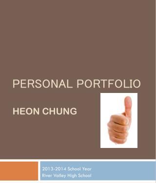 Personal Portfolio Heon  Chung
