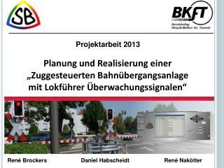 Projektarbeit 2013