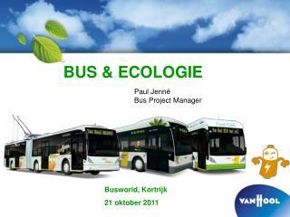 BUS & ECOLOGIE