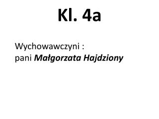 Kl. 4a