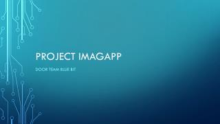 Project  Imagapp