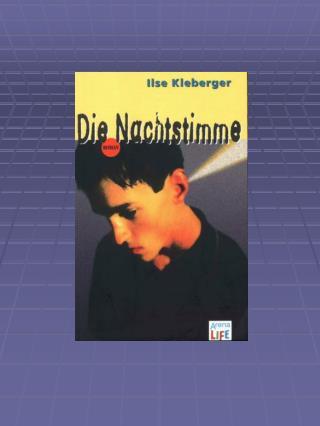 """Ilse Kleberger  """"Die  Nachtstimme """""""