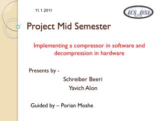 Project Mid Semester