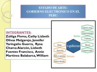ESTADO DE ARTE: GOBIERNO ELECTRONICO EN EL PERU