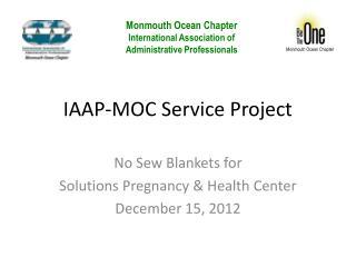 IAAP-MOC Service Project