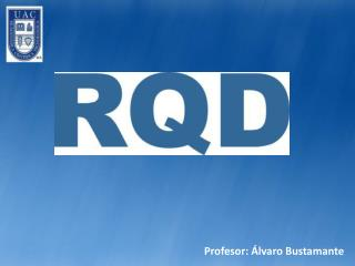 Profesor: Álvaro Bustamante