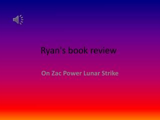 Ryan's book review