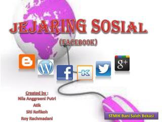 JEJARING SOSIAL (FACEBOOK)