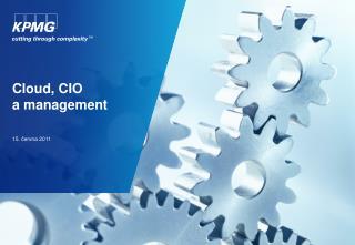 Cloud , CIO a management
