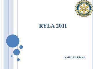 RYLA 2011