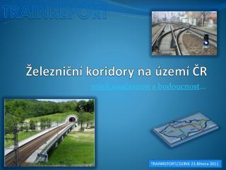 Železniční koridory na území ČR