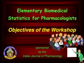 Elementary Biomedical Statistics for Pharmacologists