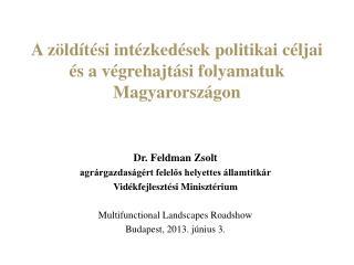 A zöldítési intézkedések politikai céljai és a végrehajtási folyamatuk Magyarországon