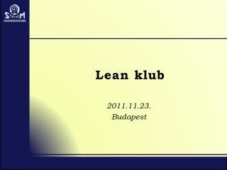 Lean  klub