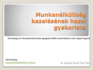 Munkanélküliség kezelésének hazai gyakorlata