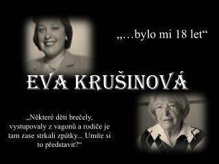 Eva Krušinová