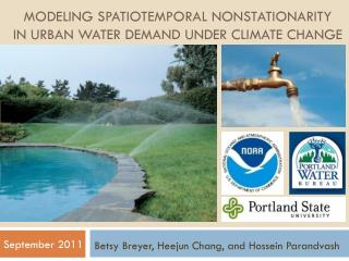 Modeling Spatiotemporal  Nonstationarity in Urban Water Demand Under Climate Change