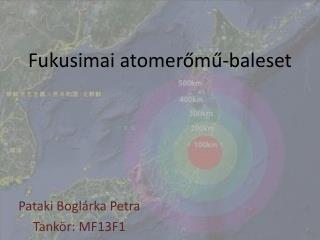 Fukusimai atomerőmű-baleset
