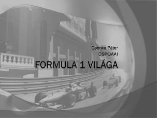 Formula 1 világa