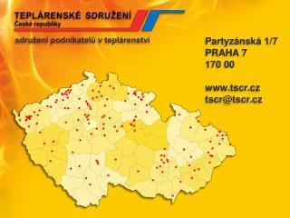Ing.  Jiří Vecka výkonné pracoviště Teplárenské sdružení České republiky