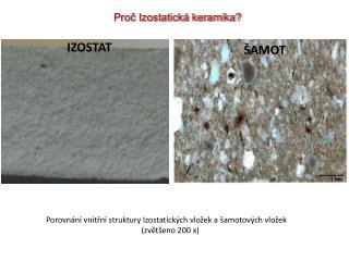 Proč Izostatická keramika?