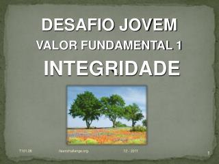 DESAFIO JOVEM VALOR FUNDAMENTAL  1
