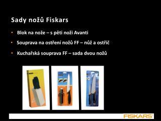 Sady nožů Fiskars
