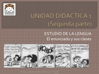 UNIDAD DIDÁCTICA 1  ( Segunda parte )