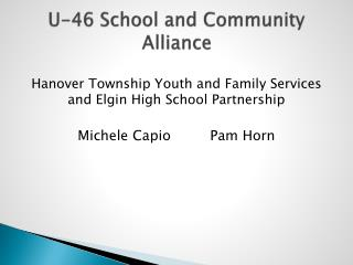 U-46 School and Community Alliance