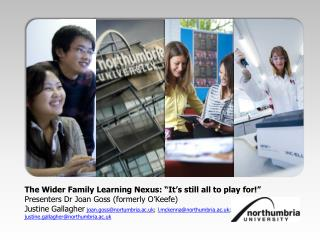"The Wider Family Learning Nexus: ""It's still all to play for!"""