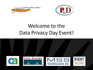 Welcome to the Data Privacy Day Event!