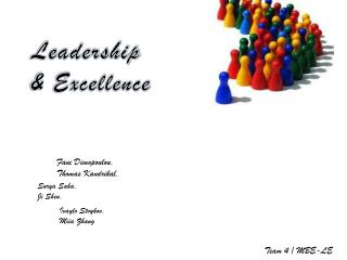 Leadership  & Excellence