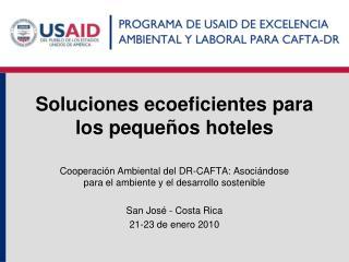 Soluciones ecoeficientes para los peque os hoteles