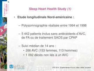 Sleep Heart Health Study (1)
