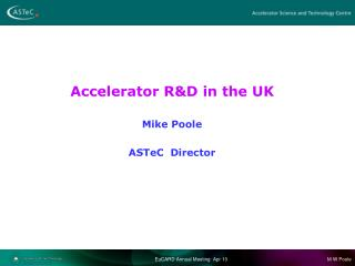 Accelerator R&D in the UK