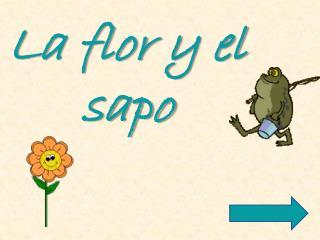 La flor y el sapo