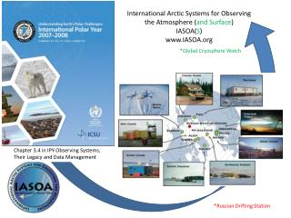 International Arctic Systems for Observing the Atmosphere ( and Surface ) IASOA( S ) IASOA