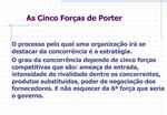 As Cinco For as de Porter