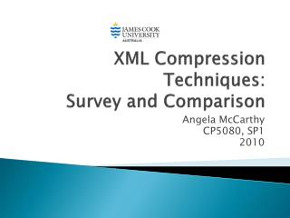 XML Compression Techniques:  Survey and Comparison
