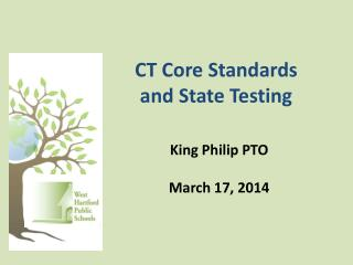CT Core Standards and State Testing