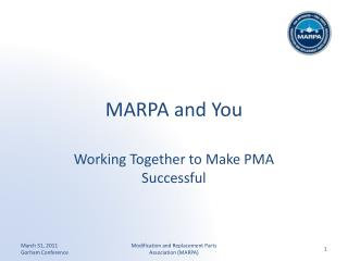 MARPA and You