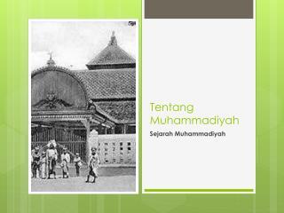 Tentang Muhammadiyah