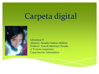 Carpeta digital