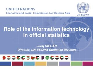 Role of the information technology in official statistics