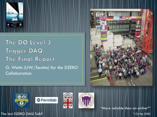 The  DØ  Level 3 Trigger/DAQ: The Final Report