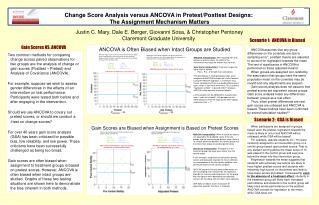 Change Score Analysis versus ANCOVA in Pretest/Posttest Designs:  The Assignment Mechanism Matters