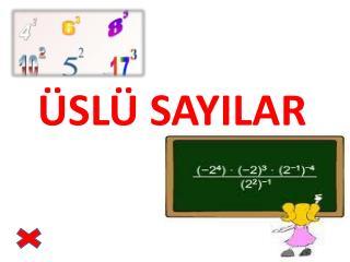 �SL� SAYILAR